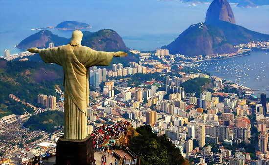 Поездка в Рио-де-Жанейро в отпуске