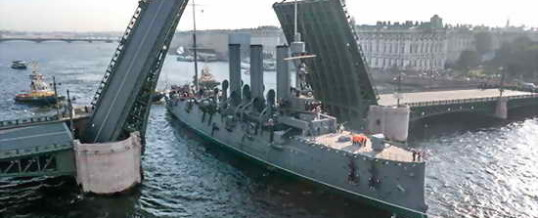 Корабли-музеи в Санкт-Петербурге