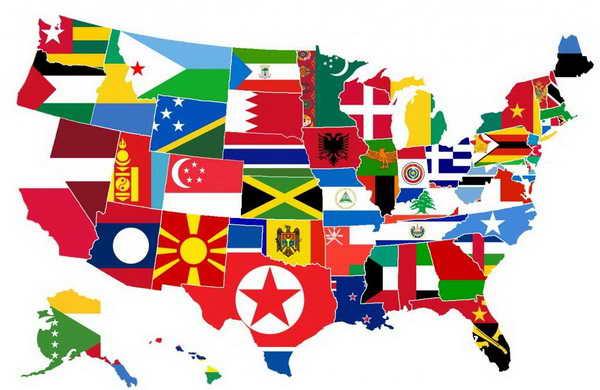США штаты