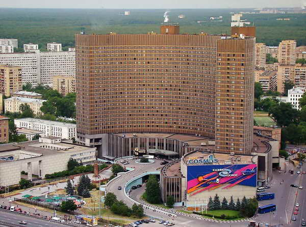 Москва гостиница Космос